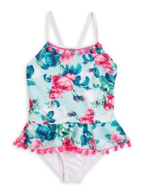 Little Girl's One-Piece...