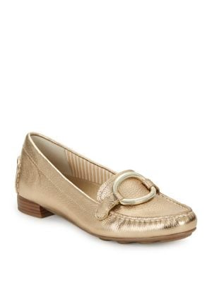 Harmonie Leather Loafers...