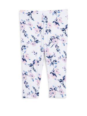 Baby Girls FloralPrint Leggings
