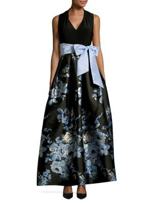Floral Ball Gown 500088029364