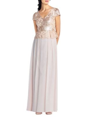 Sequined Long Dress 500088029650