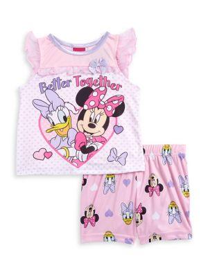 Baby Girls Better Together TwoPiece Pajama Set