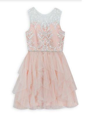 Girl's Embellished Dress...