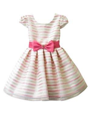 Little Girl's Cap-Sleeve...