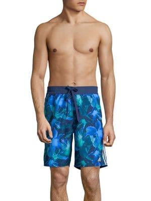 Printed Logo Swim Shorts...