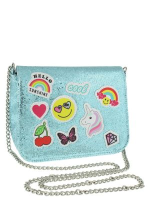 Girls Patched Crossbody Bag