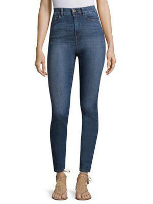High-Waist Jeans 500088063701