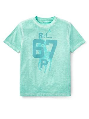 Boy's Cotton Jersey Graphic...