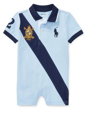 Baby Boy's Mesh Polo...