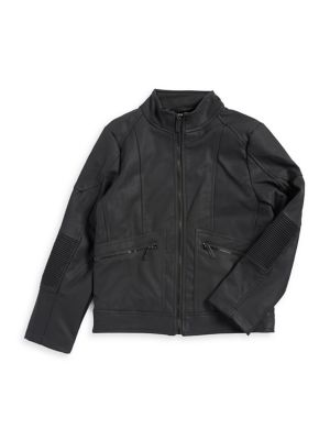 Boy's Moto Panel Jacket...
