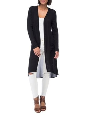 Open-Front Duster Cardigan...