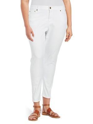 Plus Classic Stretch-Cotton Jeans 500088086755