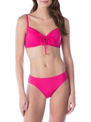 BEACH UNDERWIRE SELF-TIE BIKINI TOP