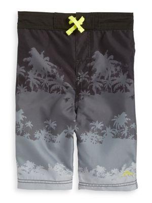 Boy's Graphic Swim Shorts...