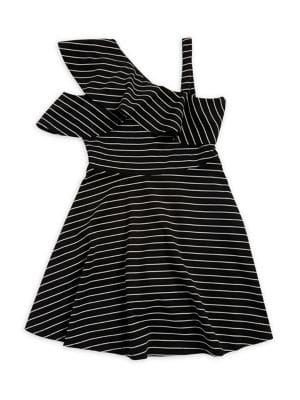 Girls Senna Ruffle Dress