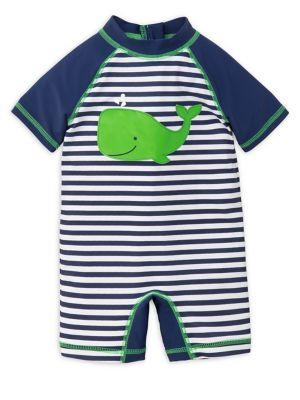Baby Boy's Whale Stripe...