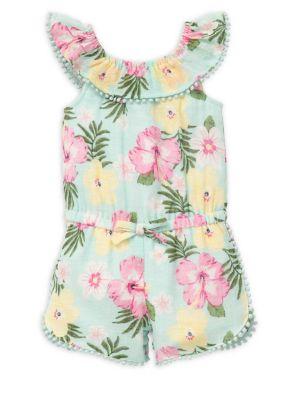 Baby Girl's Tropical...