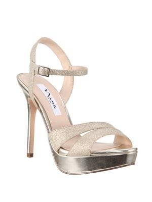 2709706e7382 NINA Silana Glitter Platform Sandals