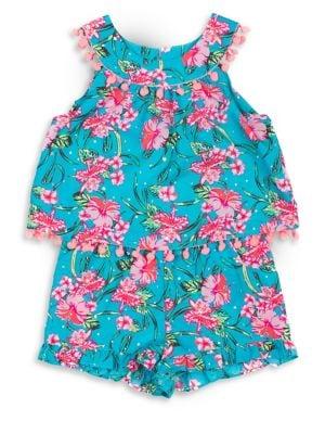 Little Girl's Floral...