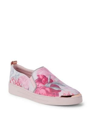 Tancey Floral Print Sneakers 500088117987