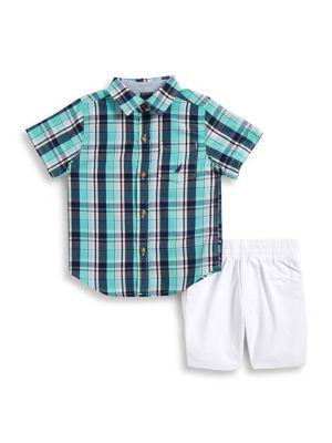 Baby Boys' Plaid Shirt...
