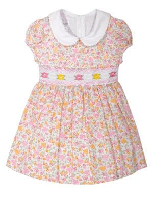 Baby Girl's Floral Smock...