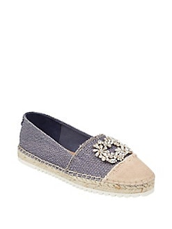 Product image. #. QUICKVIEW. Ivanka Trump. Fyler Jeweled Espadrille Flats