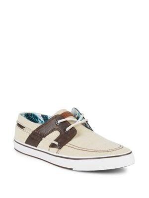 Colorblock Boat Shoes...