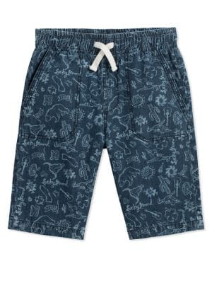 Boy's Printed Cotton...