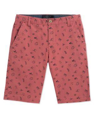 Boy's Printed Twill Shorts...
