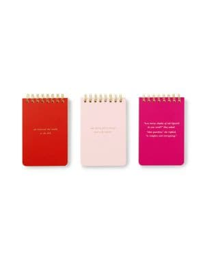 She Statements Spiral Notepads- Set of 3 500088138104
