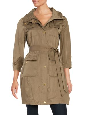 Belted Safari Trenchcoat by Ellen Tracy