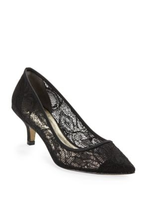 Lois Lace Kitten Heels by Adrianna Papell