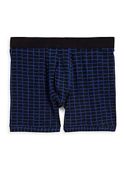Check Boxer Brief NAVY. Product image