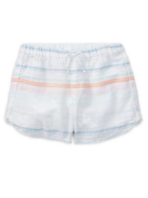 Girls' Striped Cotton...