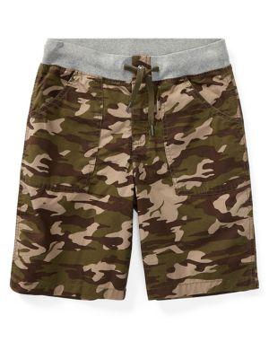 Boy's Camouflage Cotton...
