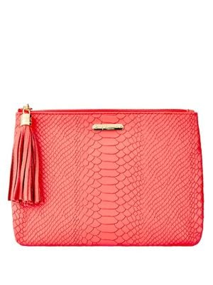All In One Leather Clutch 500088153831