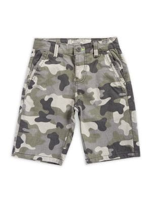 Boy's Camouflage Cotton...