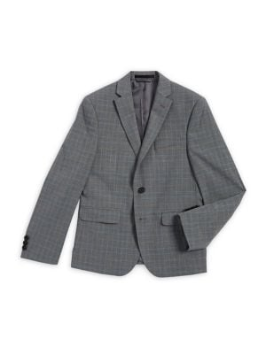 Boy's Broad Grid Suit...