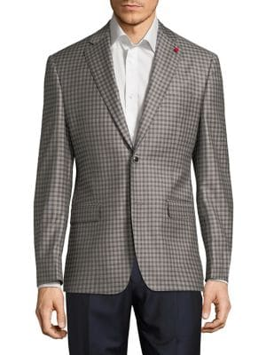Check Wool Sportcoat...