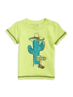 Baby Boy's Cactus-Print...
