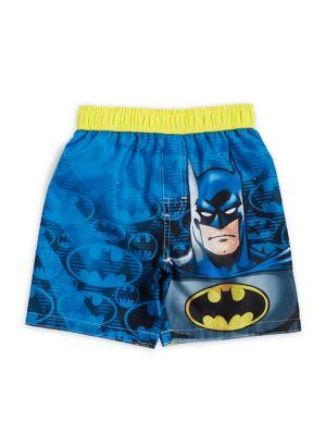 Little Boys Batman Swim Trunks