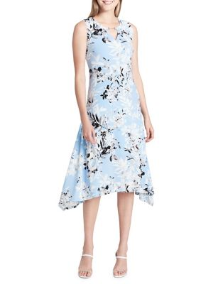Printed A-Line Dress 500088163745