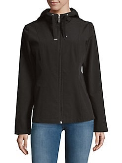 Sporty Softshell Jacket BLACK. Product image