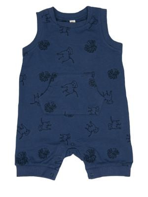 Baby Boy's Printed Cotton...