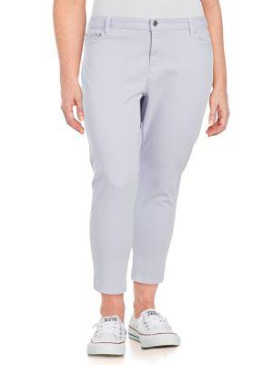 Plus Izzy Mid-Rise Skinny Jeans 500088189796