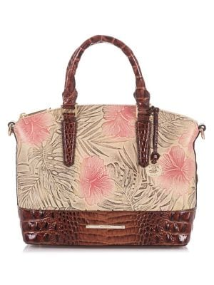 Amina Duxbury Leather Satchel 500088208445