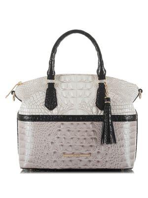Duxbury Jasmine Leather Satchel 500088208457