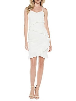White Long Party Dresses