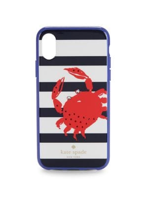 Stripe Crab iPhone X...